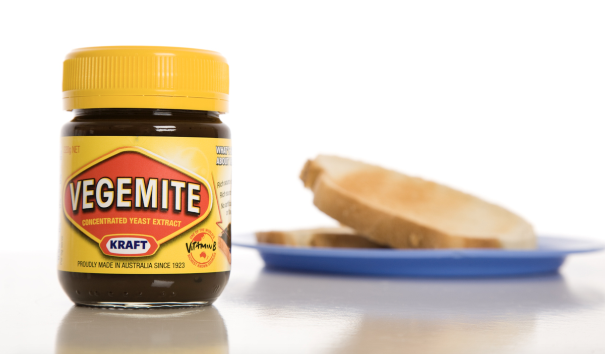 vegemite and toast